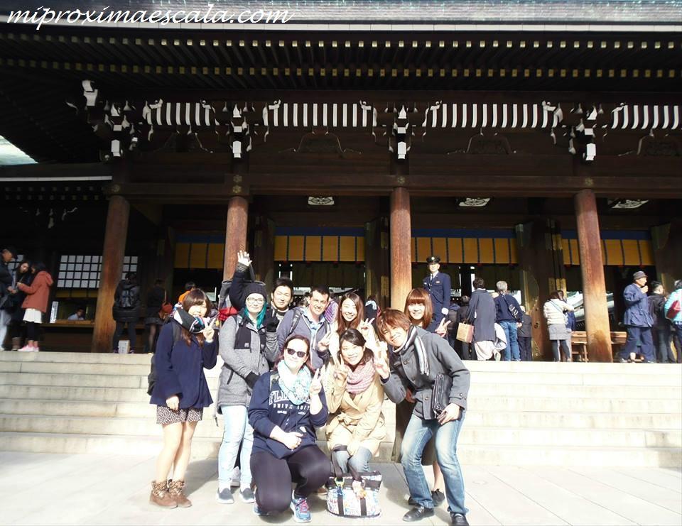 Dos de las chicas japonesas me enseñaron muchas cosas sobre la cultura japonesa.