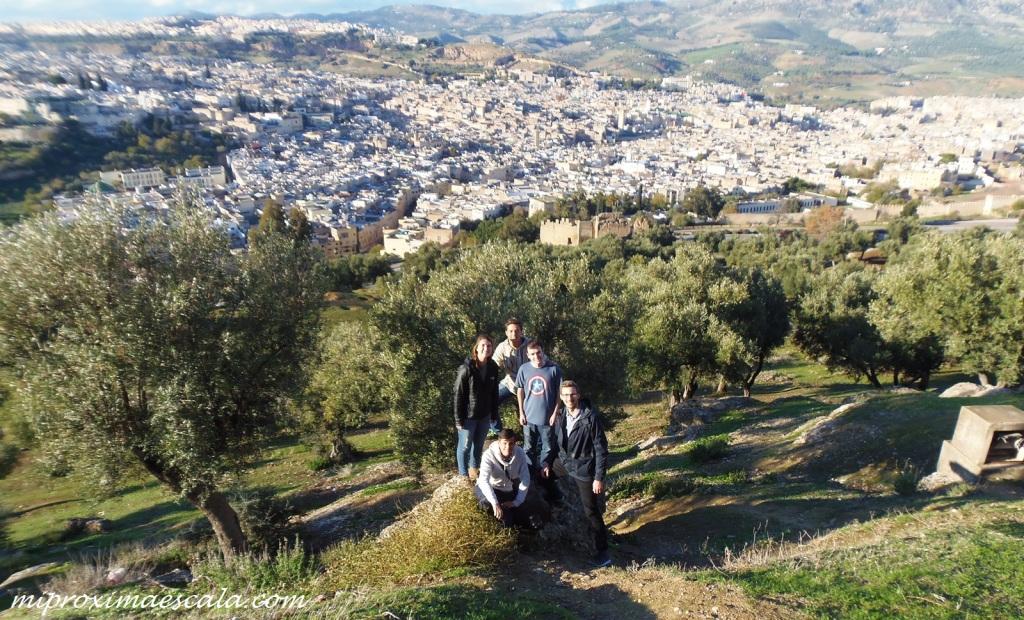Personas geniales que se conocen en el camino. Fez Marruecos.